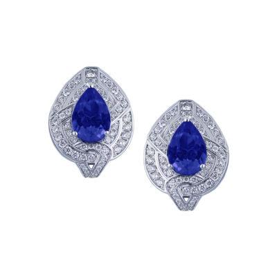 PREGIATO-earrings-blu-sapphire